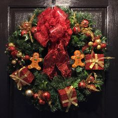Check out this item in my Etsy shop https://www.etsy.com/listing/475470449/christmas-wreath-for-front-door