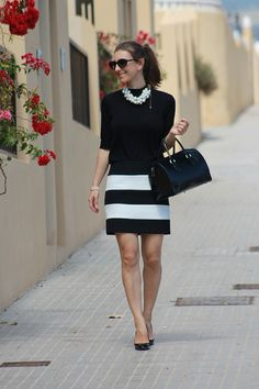 Chanel inspiration- pretty monochrome