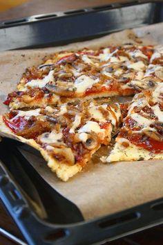 Cauliflower Crust Pizza #collectingmemoriess