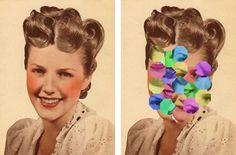 JULIA COCKBURN Julie Cockburn, Photos, Collage, Animation, Mood, Fine Art, Cut And Paste, Photomontage, Art