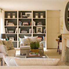 living | built-ins | helen green via desiretoinspire