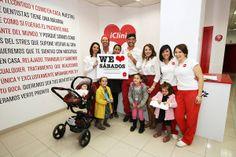 """""""We love Sábados"""". Sábado Solidario en iClinic Málaga."""