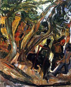 Landscape with Figures Chaim Soutine - circa 1920