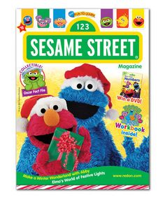 Sesame Street® Magazine Subscription by Sesame Street #zulily #zulilyfinds