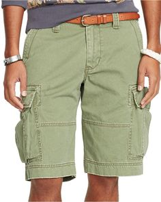 Denim & Supply Ralph Lauren Men's Chino Cargo Shorts