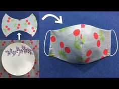 Anyone can make this mask, it's really easy/Qualquer um pode fazer essa máscara, é realmente fácil - YouTube Sewing Hacks, Sewing Crafts, Sewing Projects, Easy Face Masks, Diy Face Mask, Homemade Face Masks, Simple Face, Diy Mask, Mask Making