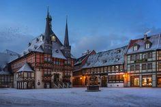 Wernigerode, Rathaus. Bild: Frank Schneidereidt