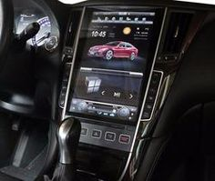 Tesla-style Android Navigation Radio for Infiniti Toyota Tundra Lifted, 2016 Toyota Tundra, Toyota Tacoma, Android Navigation, Android Radio, Infiniti G37, Q50, Cat Cafe, Cars And Motorcycles