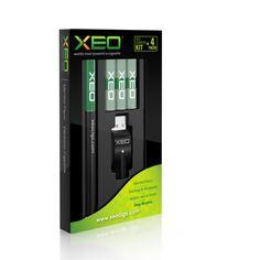 XEO Starter Kits- 3 Cartridges (corresponding to 4.5 packs of cigarettes)