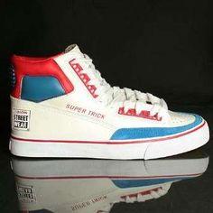 c2c5481feaf00 Vision Street Wear - Super Trick Hi - 1980 s  vision  visionstreetwear   skateboardingshoes   · Vintage SneakersClassic ...