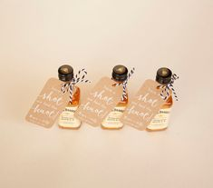 50 Have a Shot We Tied the Knot Mini Liquor Bottle Tags