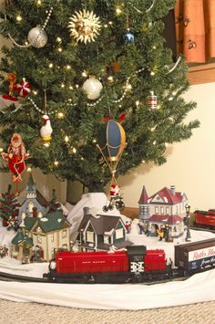 147 best holiday: Christmas Trains ~ Toy Trains images on Pinterest ...