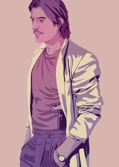 """Game of Thrones characters '90s style -- Jaime Lannister """"The Kingslayer"""""""