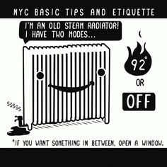 NYC basic tips and etiquette, by Nathan Pyle. Pretty accurate for any city.