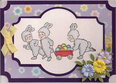 Easter Tot Wagon (Sku#T4026) card.  Art Impressions