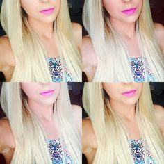 """Bleach Blonde vs. Platinum Blonde! Myfantasyhair.com  Bleach Blonde is our lightest shade of #clipinhairextensions  Platinum Blonde is our light """"golden"""" blonde shade. Both are light, and easy to blend. #myfantasyhair #mfhextensions #myfantasyhairextensions #hairoftheday #hairfashion #prettyhair #gorgeous #hair #makeup #beauty #fashion #accessories #love #blonde #comparison #bleach #platinumblonde #blondehaircolor #blondeextensions #platinumextensions #bleachblondeextensions #lighthaircolor"""