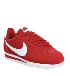 Designer Clothes, Shoes & Bags for Women Nike Cortez Red, Zapatillas Nike Cortez, Nike Cortez Shoes, Nike Shoes, Shoes Sport, Sports Shoes, Dream Shoes, Suede Heels, Top Shoes