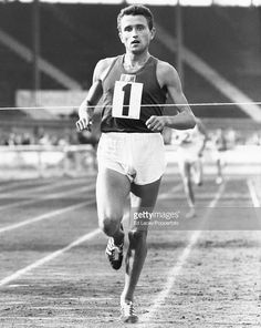 french-middle-and-long-distance-runner-michel-jazy-crossing-the-line-picture-id545284539 (814×1024) Road Running, Running Workouts, World Athletics, Star Wars, Cute White Boys, Track And Field, Cross Country, Long Distance, Athletes