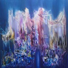 """""""La ceremonia"""" - Monica Medina - Oleo sobre tela - 80 x 80 cm www.esencialismo.com"""