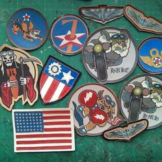 leather military patches