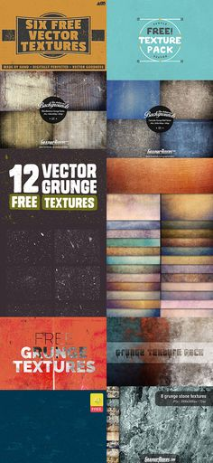 20 Free Grunge Texture Packs on Behance