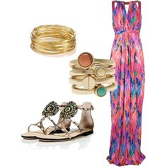 """""""Beach Wedding Outfit"""" by lollyg-1 on Polyvore"""