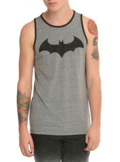 DC Comics Batman Hush Logo Tank Top