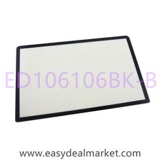 Glass Lens (Black) With Gasket Sticker For Nintendo 3DS XL/LL