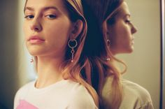 Maria Francesca Pepe SS17 'CANDY BLUSH' PENDANT EARRINGS Blush Color, Pendant Earrings, Feminine, Candy, Learning, Collection, Style, Fashion, Women's