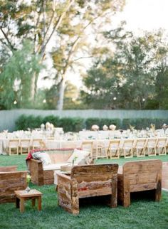 40 Amazing Outdoor Wedding Lounge Ideas | Weddingomania