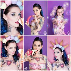 Model: Ria E.Mac Carthy Photo: Alessandra Toninello Make up&Hair: Danijela Brozovic Make up CM39Adv