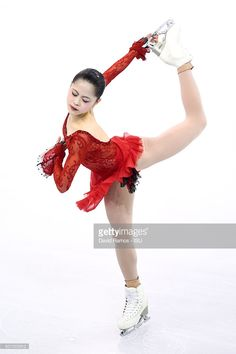 Satoko Miyahara of Japan performs during the Ladies Short program during day two of the ISU Grand Prix of Figure Skating Final 2015/2016 at the Barcelona International Convention Centre on December 11, 2015 in Barcelona, Spain.