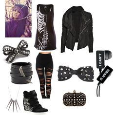 Emo Polyvore Outfits   fashion emo outfits emo goth quotev outfit created by xxkatiekarmaxx ...