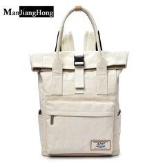 New 2017 Women Girls Backpack Man Canvas Backpacks School Bags For Teenagers Girl mochila feminina Students Satchel #Affiliate