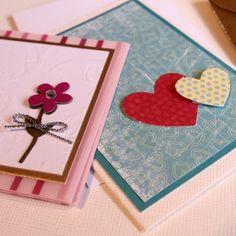 Small greeting cards - små kort