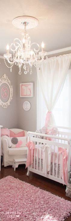 Most viewed nurseries of 2014 nursery babies and room within chandelier for baby remodel 0 Girl Nursery Themes, Nursery Twins, Nursery Room, Boy Room, Nursery Decor, Nursery Ideas, Room Ideas, Kids Room, Baby Bedroom