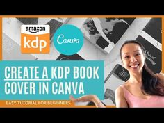 How To Create A PDF Book Cover For Amazon KDP On Canva Maze Book, Pdf Book, Design Tutorials, Drop, Activities, Writing, Amazon, Canvas, Create