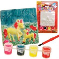 http://www.escoimports.com/toys-by-theme/farm-horse-toys/horse-and-pony-paint-set