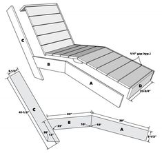 Woodworking Projects Diy, Woodworking Plans, Wooden Projects, Outdoor Furniture Plans, Lounge Furniture, Diy Furniture, Furniture Layout, Diy Chair, Diy Patio