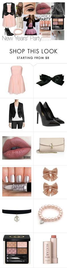 """Dance Party! contest"" by xxunicorn-loverxx ❤ liked on Polyvore featuring Chanel, Yumi Kim, Yves Saint Laurent, Dolce&Gabbana, Monsoon, Gucci, Fresh and danceparty"