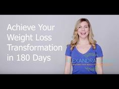 Achieve Your Weight Loss Transformation in 180 Days. Hi! I'm Alexandra, your virtual Holistic Heath Coach. I help people achieve healthy weight loss by showing them what to eat and how to incorporate wellness into their daily lives. If you think weight loss for busy people is impossible, think again. I'll show you how.