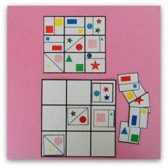 Autism Activities, Kindergarten Activities, Activities For Kids, Ways Of Learning, Kids Learning, Visual Perception Activities, Baby Toy Storage, Montessori Art, Clever Kids