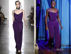 Lupita Nyong'o In Cushnie Et Ochs - Late Night with Jimmy Fallon