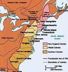 AMAZINGLY THOROUGH summaries of how the first 13 Colonies became states including major events and key players