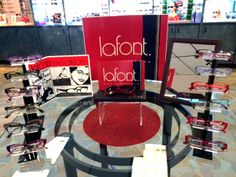 Lafont styles, colorful, bold, unique frames! Come check out our selection! http://www.sve.com