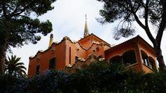 Spanien, Park Güell, Barcelona, Antoni Gaudi