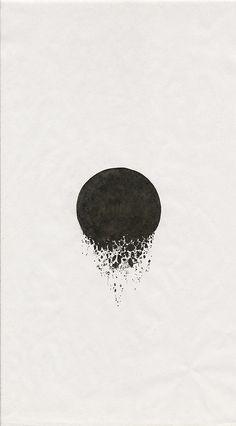 paper tissue drawing pen ink illustration white album series installation contemporary chris hernandez