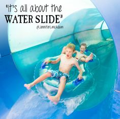 Who agrees? #waterslide #greatwolflodge #quotes