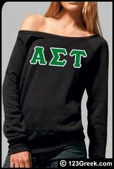 Love the sweater, too bad they don't have academic societies on the website.