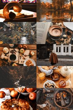 i make pretty things Dark Autumn, Autumn Cozy, Autumn Aesthetic, Aesthetic Collage, Lexa Y Clarke, Changing Leaves, Autumn Scenes, Beautiful Collage, Fall Wallpaper